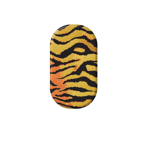 chrome nail, wild, stripe, animal print, gold, rose gold, zoe vokis