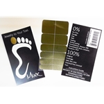 "Gold Chrome Minx ""Jewelry to Your Toes"" A01"