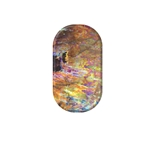 chrome nail, holographic, nail art